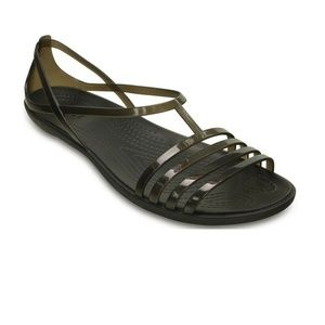 Crocs Isabella Women's flat sandals Size 10 Bin14